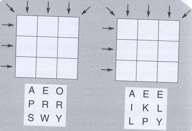 The two puzzles
