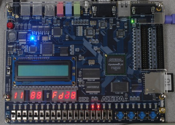 Apple2fpga: Reconstructing an Apple II+ on an FPGA