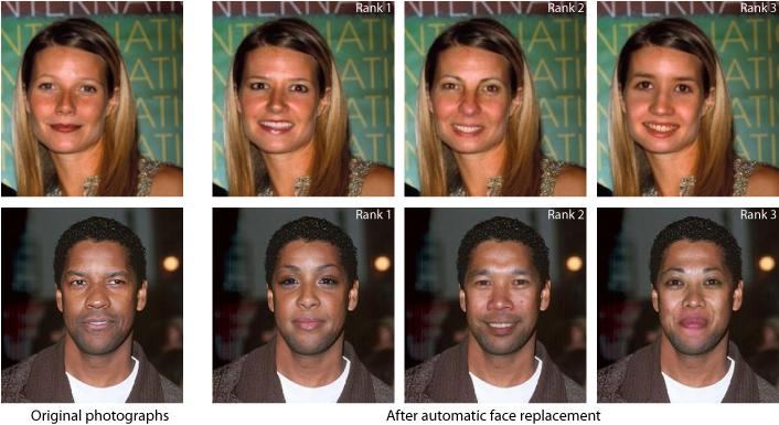 I swap faces