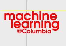 columbia machine learning