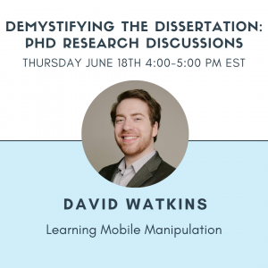 David Watkins-Demystifying the Dissertation