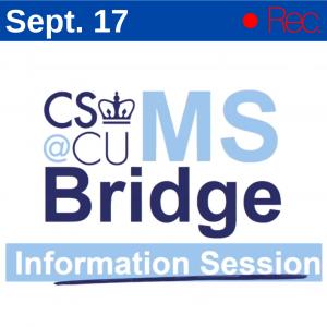 Bridge Info Session - 9/17