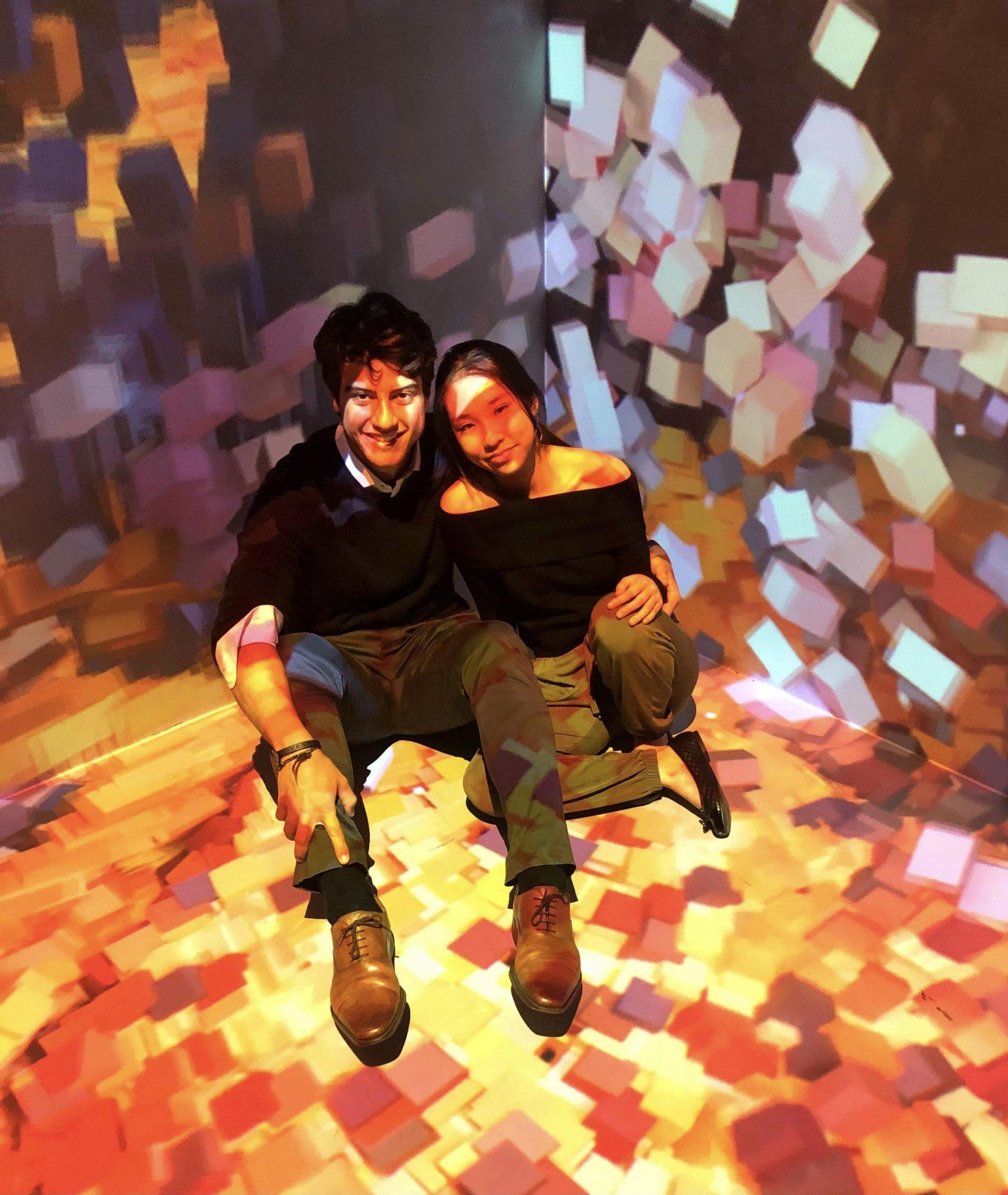 AI Generated Artwork, JR Carneiro CS SEAS '21 and Caroline Lin CS CC '21